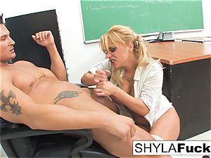 student Shyla Gets ravaged