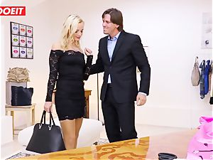 LETSDOEIT - Tailor Seduced And pounds young customer