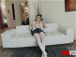 Bamvisions insatiable college girl Giselle Palmer