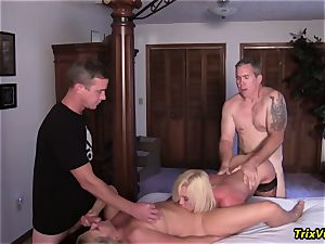 group drill the Stripper with Ms Paris Rose