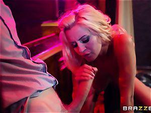 bitchy mega-bitch wants xxx in a strip bar