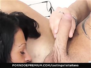 audition ALLA ITALIANA - insatiable sex with local first-timer