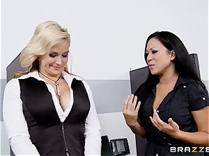 Generous boss boinks super-fucking-hot secretary Sarah Vandella