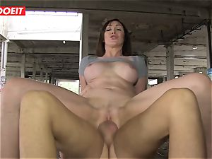 LETSDOEIT - super hot couple Caught In An deserted palace