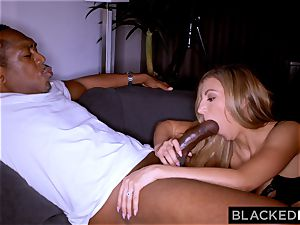 BLACKEDRAW classy red-hot wife demolished by big black cock