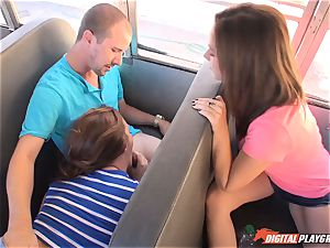 Public college bus twat hitting Maddy OReilly