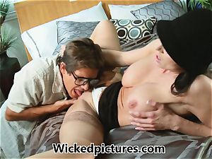 Kendra zeal helps out a naughty fellow with his problem