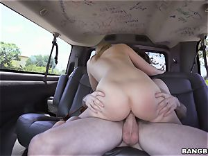 Bailey Brooke boned on the Bangbus