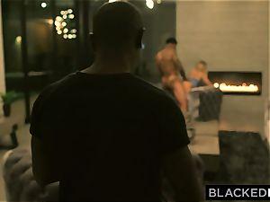 BLACKEDRAW Adriana Chechik Has 3AM dual bbc craving