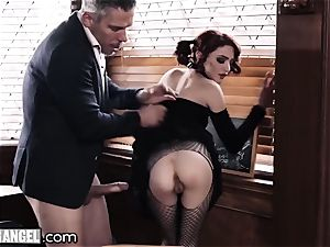 goth masturbating In Detention is rectally punished