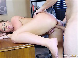 Maddy OReilly arched over and humped