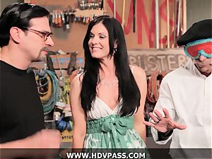 cougar Busters India Summer banged with jizz shot
