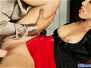 jaw-dropping Jenna adorable and Tiffany woman gets freaky for mass ejaculation