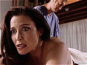 spectacular Mimi Rogers gets her whole body fondled