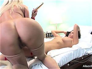 weird Nurse Nikita Von James tries to heal Alison Tyler