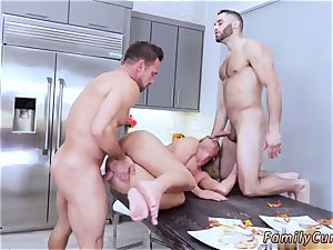 nubile college douche Army guy Meets buxom Stepmom