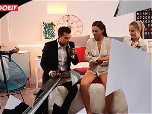 LETSDOEIT insane Artist romps super-hot Spanish couple