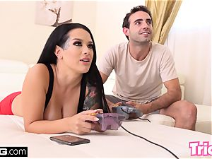 Trickery step brother fucks sister Katrina Jade