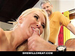 SheWillCheat - Step mummy Cheats on Traveling husband