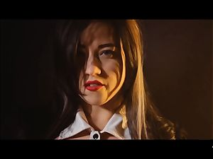 hard-core SHADES - insane Tina Kay pummeled firm in three way