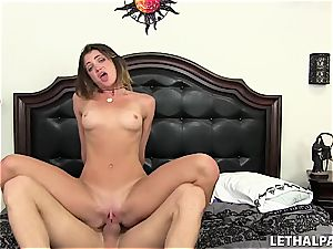 insatiable young stepsister needs a man-meat