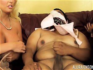 Alura Jenson gets a bit insatiable and starts to slap