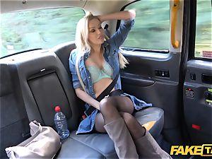 fake taxi british towheaded cutie Amber Jayne