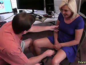 humping the super-fucking-hot secretary