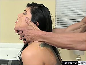horny cougar Romi Rain thirsts for deep twat penetrating