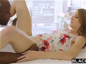 BLACKED insane blond Grad schoolgirl screws Married bbc
