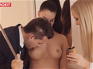 LETSDOEIT - Single brown-haired Is screwed By kinky Swingers