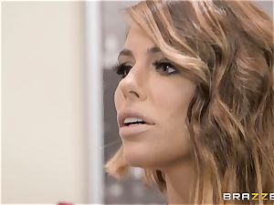 Adriana Chechik boinked in her pussy by a black man meat