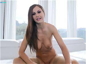 gorgeous nympho Tina Kay ultra-kinky anal invasion boning