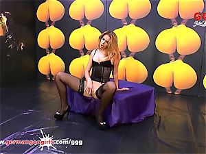 uber-sexy Ani BlackFox jizz gangbang - German Goo damsels