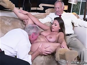 elderly doll gigantic udders Ivy impresses with her big mounds and booty