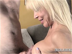 GFE super hot blonde mummy and youthfull dude