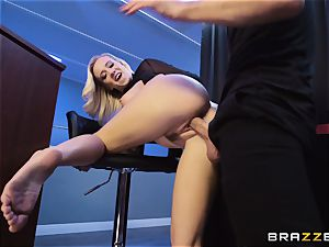 Bailey Brooke gets jiggish with the dangled bouncer