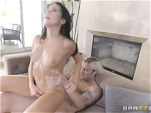 warm sisters Peta Jensen and Megan Rain share their stepbrother