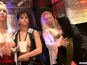 Bibi Fox lock fuck hole the key of a sizzling fellows with friends