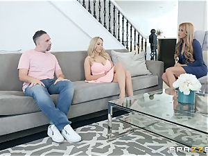 Mercedes Carrera and Olivia Austin threesome therapy