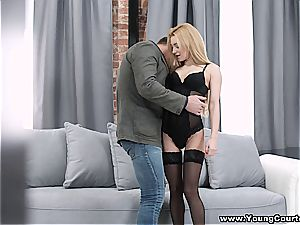 youthful Courtesans - Sonya saucy - fuck-a-thon rendezvous in a boudoir
