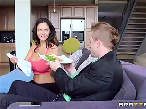 Ava Addams is boned in both her wet slots