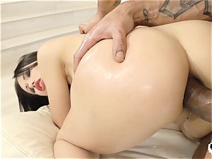 HER restrict - Russian Sasha Rose gets culo smashed hard-core