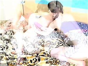 OldNanny Compilation of Matures girl/girl play