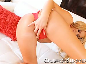 CrushGirls - Summer Brielle loves frolicking with herself