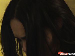 jizz interchanging horny teens Selena Rose and Vicki chase rail on rigid throbbing inches
