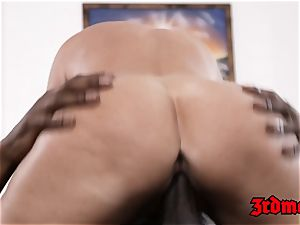 epic cougar interracially drilled hard