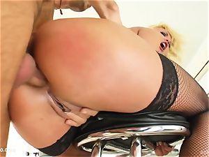 Angelica Diamond gets anal invasion intercourse brilliant hardcore fashion by ass Traffic