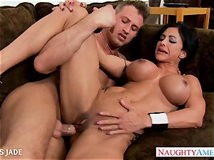 rock-hard bodied love buttons Jade nailing