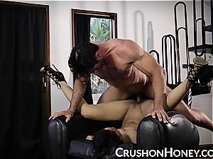 CrushGirls - smallish stunner Gold eyes covered and drilled
